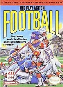 NES Play Action Football Game - Nintendo (NES)