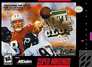 NFL Quarterback Club 96 Game - Super Nintendo (SNES)