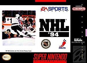 NHL '94 Game - Super Nintendo (SNES)