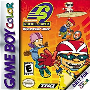 Rocket Power Gettin' Air Game - Nintendo Game Boy