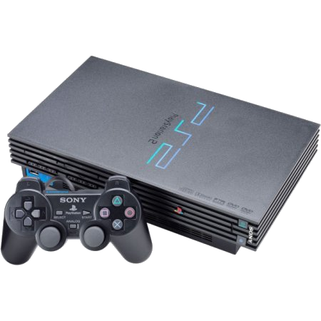 PlayStation 2 (PS2) Thick Console Bundle With 1 Controller