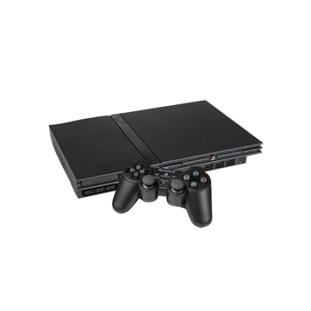 PlayStation 2 (PS2) Thin Console Bundle With 1 Controller
