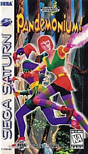Pandemonium Game - Sega Saturn