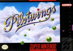 Pilotwings Game - Super Nintendo (SNES)