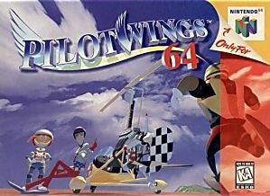 Pilotwings 64 Game - Nintendo 64 (N64)