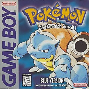Pokémon Blue Version Game - Nintendo Game Boy
