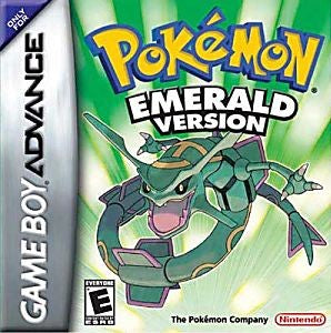 Pokémon Emerald Version Game - Nintendo Game Boy Advance