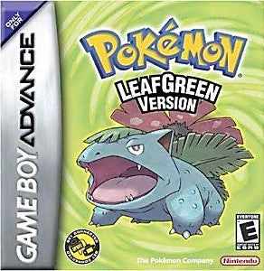 Pokémon LeafGreen Version Game - Nintendo Game Boy Advance