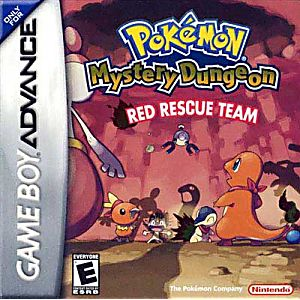 Pokémon Mystery Dungeon: Red Rescue Team Game - Nintendo Game Boy Advance