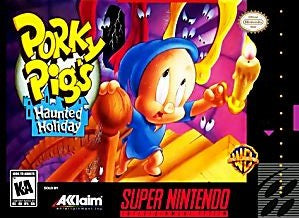 Porky Pig's Haunted Holiday Game - Super Nintendo (SNES)