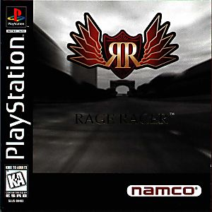 Rage Racer Game - PlayStation 1 (PS1)