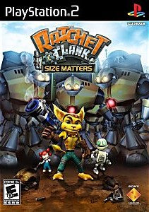 Ratchet & Clank: Size Matters Game - PlayStation 2 (PS2)