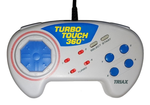 Super Nintendo Triax Turbo Touch 360 Controller