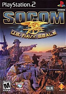 SOCOM US Navy Seals Game - PlayStation 2 (PS2)