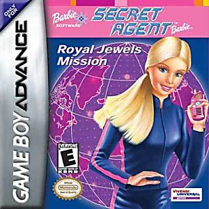 Barbie: Secret Agent Barbie Game - Nintendo Game Boy Advance