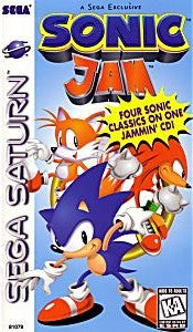 Sonic Jam Game - Sega Saturn