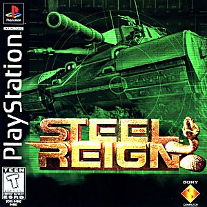 Steel Reign Game - PlayStation 1 (PS1)