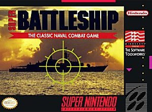 Super Battleship: The Classic Naval Combat Game - Super Nintendo (SNES)
