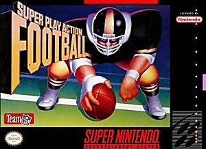 Super Play Action Football Game - Super Nintendo (SNES)