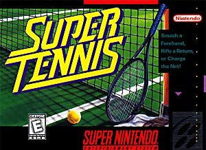 Super Tennis Game - Super Nintendo (SNES)