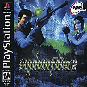 Syphon Filter 2 Game - PlayStation 1 (PS1)