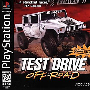 Test Drive: Off-Road Game - PlayStation 1 (PS1)