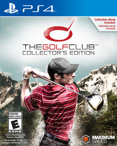 The Golf Club Collector's Edition Game - PlayStation 4 (PS4)