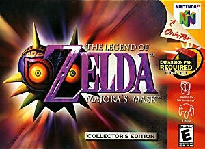 The Legend of Zelda: Majora's Mask Game - Nintendo 64 (N64)