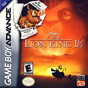 Disney's The Lion King 1 1/2 Game - Nintendo Game Boy Advance