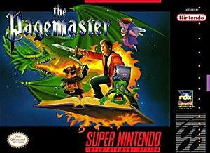 The Pagemaster Game - Super Nintendo (SNES)