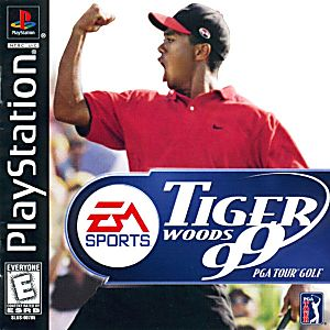 Tiger Woods 99 Game - PlayStation 1 (PS1)