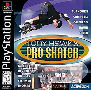 Tony Hawk's Pro Skater Game - PlayStation 1 (PS1)