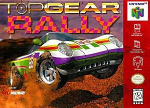 Top Gear Rally Game - Nintendo 64 (N64)