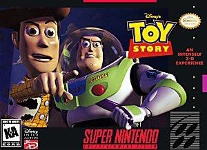 Toy Story Game - Super Nintendo (SNES)