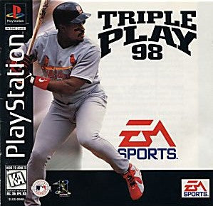 Triple Play 98 Game - PlayStation 1 (PS1)