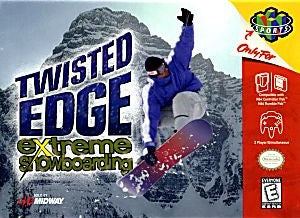 Twisted Edge Extreme Snowboarding Game - Nintendo 64 (N64)