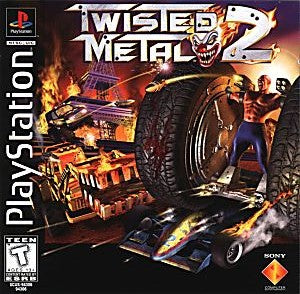 Twisted Metal 2 Game - PlayStation 1 (PS1)