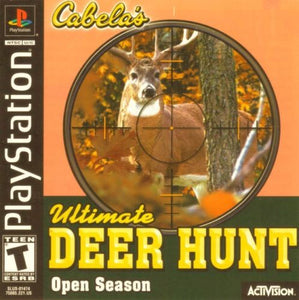 Cabela's Ultimate Deer Hunt Open Season Game - PlayStation 1 (PS1) - Disc Only