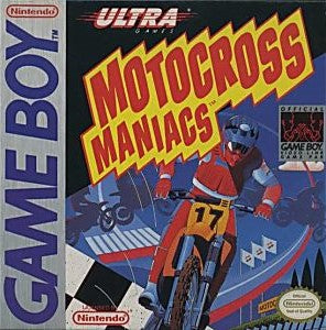 Motocross Maniacs Game - Nintendo Game Boy