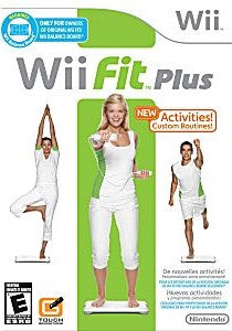 Wii Fit Plus Game - Nintendo Wii - Disc Only