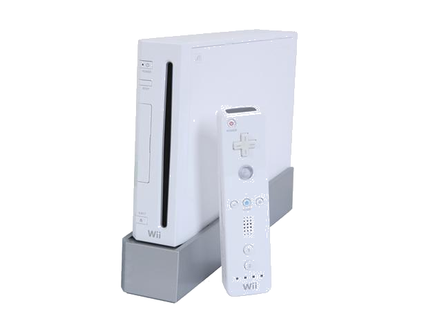 Nintendo Wii Console Bundle with Stand & 1 Controller - White