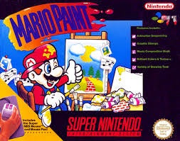 Mario Paint Game - Super Nintendo (SNES)