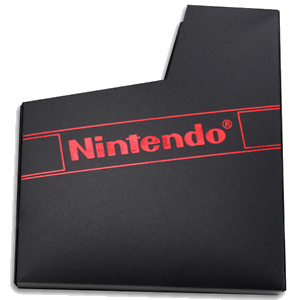 Nintendo (NES) Black Sleeve Dust Cover - OEM