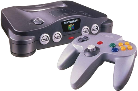 Nintendo 64 (N64) Console Bundle With 1 Grey Controller