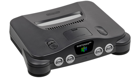 Nintendo 64 (N64) Console - Charcoal Grey