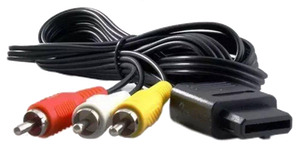 NEW 6FT AV Audio Video Cords - GameCube, Super Nintendo (SNES) & Nintendo 64 (N64)