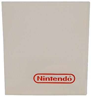 Nintendo (NES) Hard Plastic Game Case (Clear) - OEM