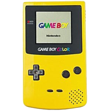 Nintendo Game Boy Color System - Yellow