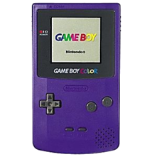 Nintendo Game Boy Color System - Purple