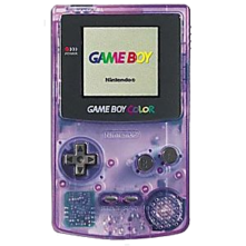 Nintendo Game Boy Color System - Atomic Purple